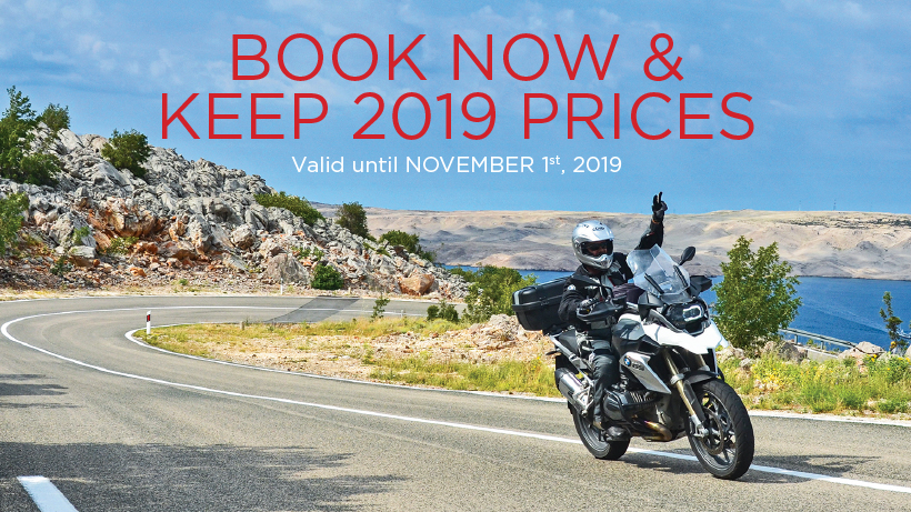 Book Until Nov 1st & Keep 2019 Prices
