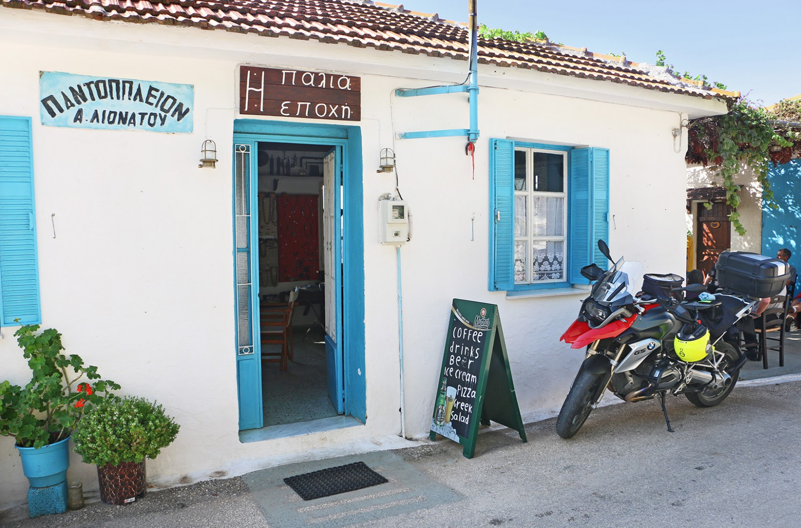 Greece Motorcycle Tour