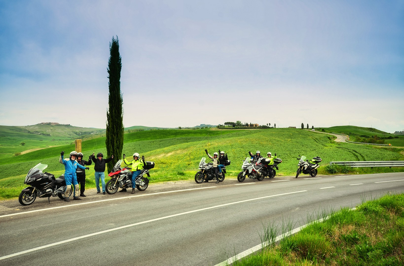 Italia Espresso Motorcycle Tour of Tuscany