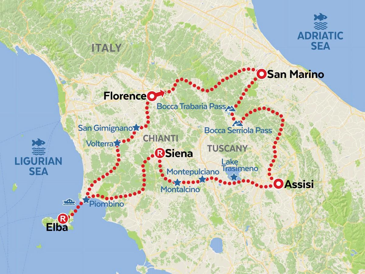 Tuscany Motorcycle Tour Amt