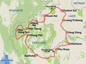 Thailand and Laos - all inclusive