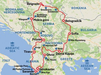 Intriguing Southeast Europe